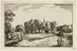 A Convent, plate thirteen after Pictures of Farms, Country Houses and Rustic Villages (Praediorum villarum et rusticarum casularum icones)