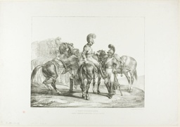 A Party of Life Guards, plate 5 from Various Subjects Drawn from Life on Stone