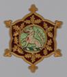 Myddelton Biddulph Armorial Medallion