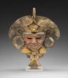 Mask from an Incense Burner Portraying the Old Deity of Fire