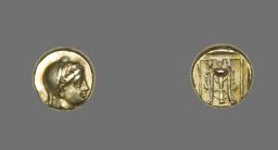 Coin Depicting the Goddess Demeter