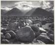 Mount Williamson, from Manzanar, Sierra Nevada, California