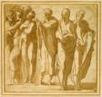 Group of Nine Standing Figures