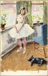 Ballet Girl at Window