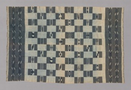 One of Pair of Kente-style Woman's Wrapper