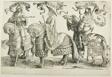 Ahaz, Hezekiah, Manasses, plate four, from The Twelve Kings of Israel