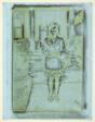 Girl Standing in Street