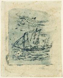 A Vessel Under Sail