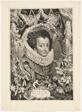 Elisabeth of Bourbon, Queen of Spain, plate 13 from Duces Burgundiae (Dukes of Burgundy)