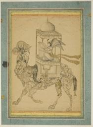 Angel (Peri) Riding a Composite Camel