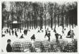 Enfants dans la premiere neige, Paris