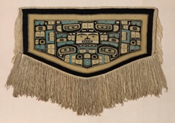 Dance Blanket with Diving Whale and Raven Motifs