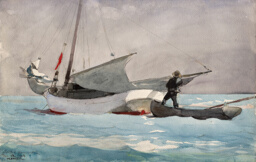 Stowing Sail