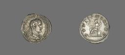 Denarius (Coin) Portraying Emperor Elagabalus