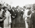 Dr. King and Virgil A. Wood Lead March