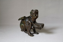Oil Lamp in the Form of a Sphinx