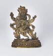 Enlightened Protector Mahakala with Six Arms (Shadbhuja)