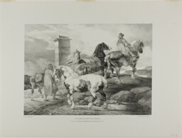 Horses Going to a Fair, plate 3 from Various Subjects Drawn from Life on Stone