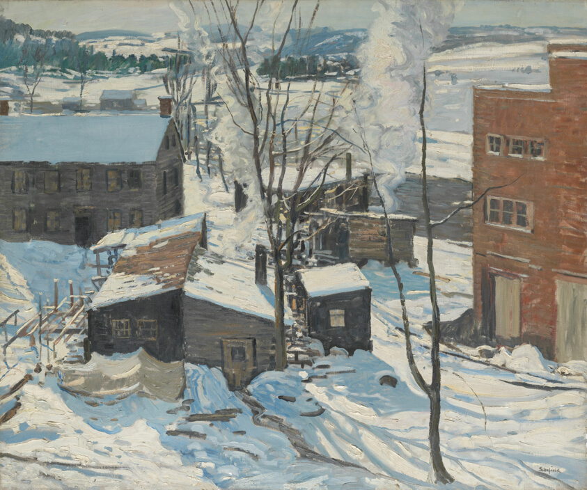 The Powerhouse, Falls Village, Connecticut | The Art Institute of Chicago