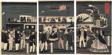 Arrival and Departure of an American Steamship (Amerikakoku jokisha orai)