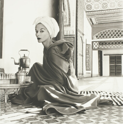 Woman in Palace (Lisa Fonssagrives-Penn), Marrakech, Morocco