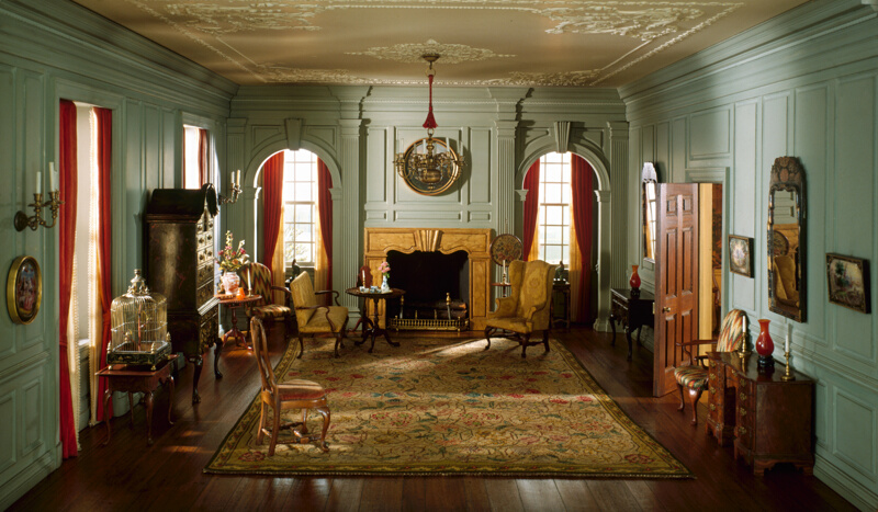 A23 virginia drawing room 1754 the art institute of - African american interior designers chicago ...