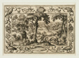 Boar Hunt, from Landscapes with Old and New Testament Scenes and Hunting Scenes
