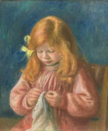 Jean Renoir Sewing