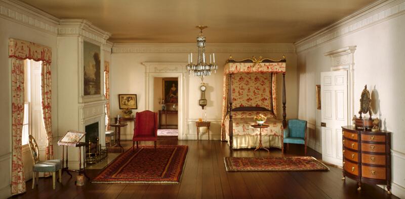 Rooms: A8: Massachusetts Bedroom, C. 1801
