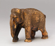 Walking Elephant with Floral Caparison