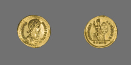 Solidus (Coin) of Emperor Theodosius I