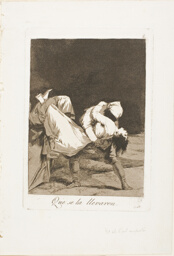 They Carried Her Off!, plate eight from Los Caprichos