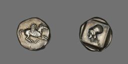 Coin Depicting Pegasus