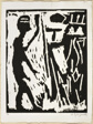 Untitled, one woodcut from the portfolio of eight entitled Eight Experiences