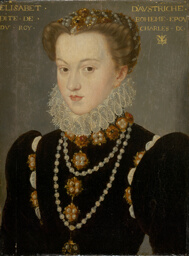 Portrait of Elizabeth of Austria, Wife of King Charles IX of France