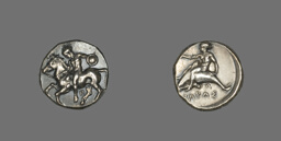 Stater (Coin) Depicting a Horseman