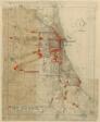 Plan of Chicago, Chicago, Illinois, Railroad Circuits Diagram