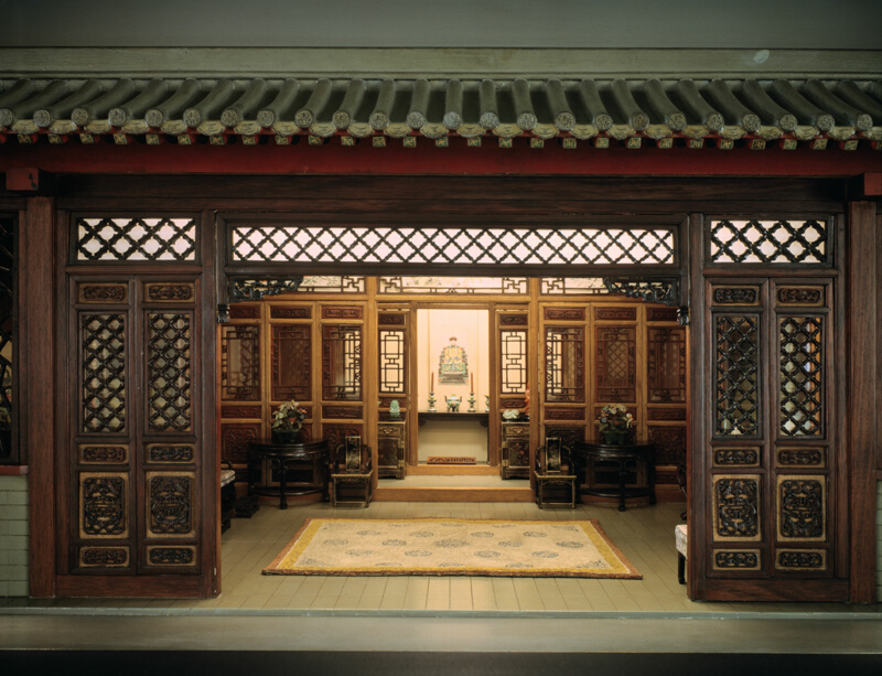 E 30 Chinese Interior Traditional The Art Institute Of