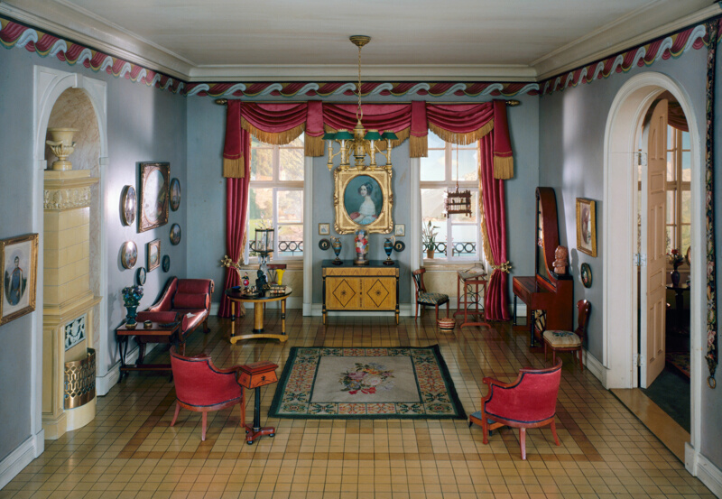 Rooms: E-28: German Sitting Room Of The Biedermeier Period, 1815