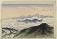 Distant View of Mt. Tateyama from Mt. Hakuba