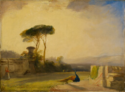 View on the Grounds of a Villa near Florence
