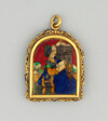 Reliquary Pendant of Saint Barbara