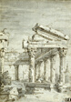 Capriccio: A Ruined Classical Temple