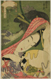 "The Courtesan Takigawa of the Ogiya, from the series ""Beauties of the Five Festivals (Bijin gosekku)"""