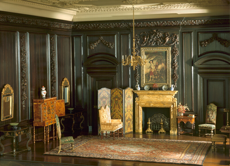 Rooms: E-4: English Drawing Room Of The Late Jacobean Period