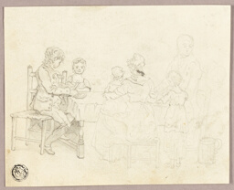 Family at a Table