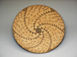 Ceremonial Basket with Spiral Design