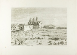S. Giustina in prà della Vale, from Vedute