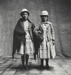 Two Cholas (Mestizas) From Puno, Cuzco