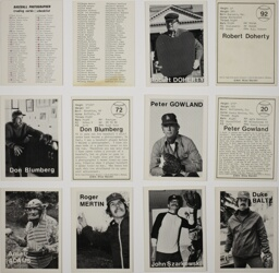 Baseball-Photographer Trading Cards